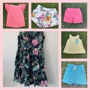 Summer Lot of Girls 3T Clothing